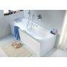 Купить KOLO XWP3070 COMFORT XWP3070000 Ванна Прямоугольная 170Х75 см Акриловая XWP0270 с Ножками SN7 в Киеве vannaja.kiev.ua
