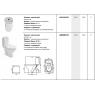 Купити KOLO L89200 Runa L89200000 Компакт 3 / 6л з нижнім підведенням води і горизонтальним Випуском Сидіння з дюропласт Колір Білий 635 мм в Києві vannaja.kiev.ua