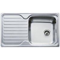 TEKA 10119057 Classic 1B 1D Кухонная Мойка из Нержавеющей Стали микротекстура Врезная 860 x 500 мм