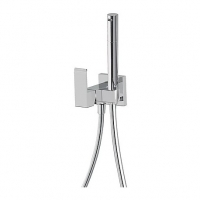 TRES 10739503 TRESMOSTATIC Квадратная душевая система с темостатом 250 мм