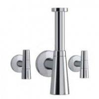 Viega 490614 Eleganta Set 2 Дизайнерский Сифoн для Умывальника Латунный + Дизайн Вентили Покрытие Хром Германия