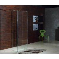 Стеклянная перегородка VOLLE 18-08-80 Стенка 800*1900 мм каленое прозрачное стекло 8мм