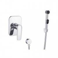 IMPRESE VR15030Z-ВТ PRAHA new набор Смеситель Скрытого Монтажа с Гигиеническим душем