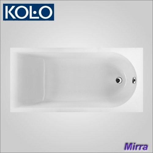 Купить KOLO XWP3360000 MIRRA XWP3360 Ванна Акриловая 160х75 см Прямоугольная + Ножки SN0 в Киеве vannaja.kiev.ua
